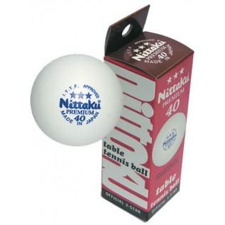Мячи для настольного тенниса Nittaku Premium 3 star