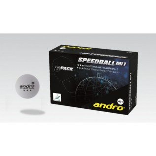 Мячи для настольного тенниса Andro Speedball Mi1 3 star 40+