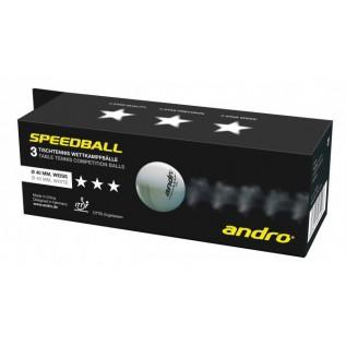 Мячи для настольного тенниса Andro Speedball 3 star