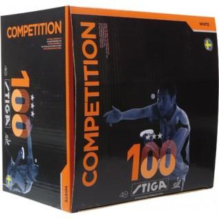 Мячи Stiga Competition *** 100 balls