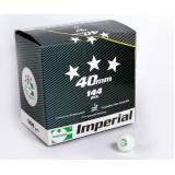 Мячи для настольного тенниса Imperial 3 star ITTF 144 шт.