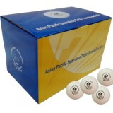 Мячи для настольного тенниса Asian Pacific 40+ (Seamless) 72 шт.