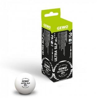 Мячи для настольного тенниса Gewo Ultra SLP 40+ 3 star 3 шт.