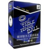 Мячи для настольного тенниса Yinhe Milky Way ITTF 40+ 3 star