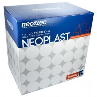 Мячи для настольного тенниса Neottec Neoplast 40+ 144 шт.
