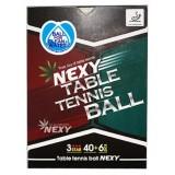 Мячи для настольного тенниса Nexy 3 star 40+ 6 шт.