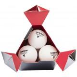Пластиковые мячи для настольного тенниса Xiom 3 star ITTF Seamless 40+ 6 шт.